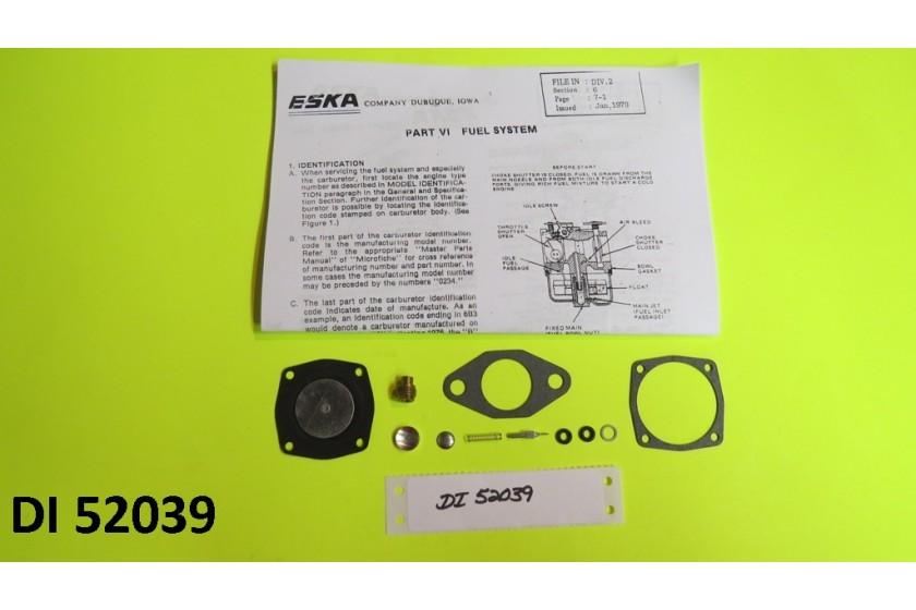 Carb Carburetor Kit Eska Sears Ted Williams Tecumseh 1961-1987 Outboard Motor