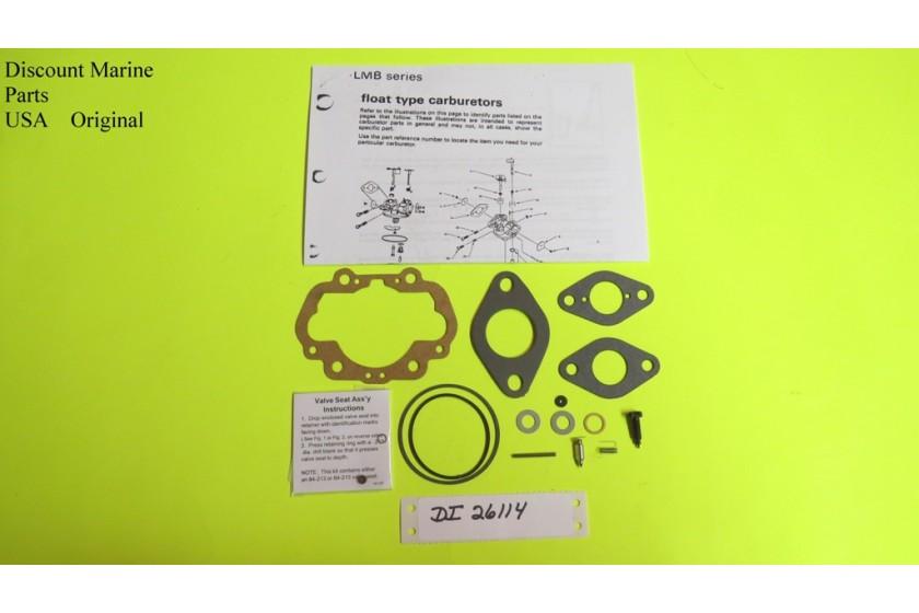 Walbro Lmg194 Lmb201 Lmb202 Lmb209 Carburetor Clinton J200